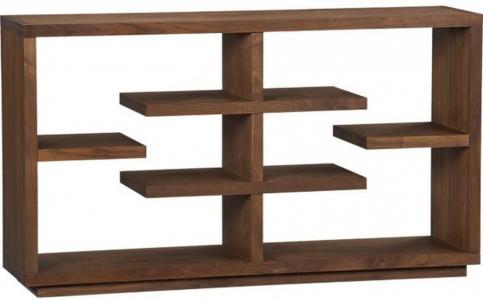 Custom-built shelf