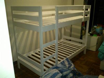 Custom-made bunk bed