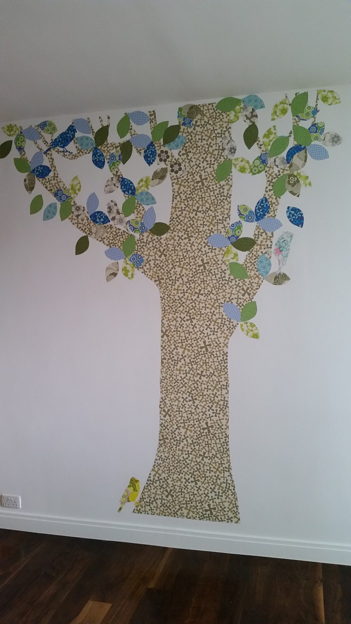 Custom wall stencil