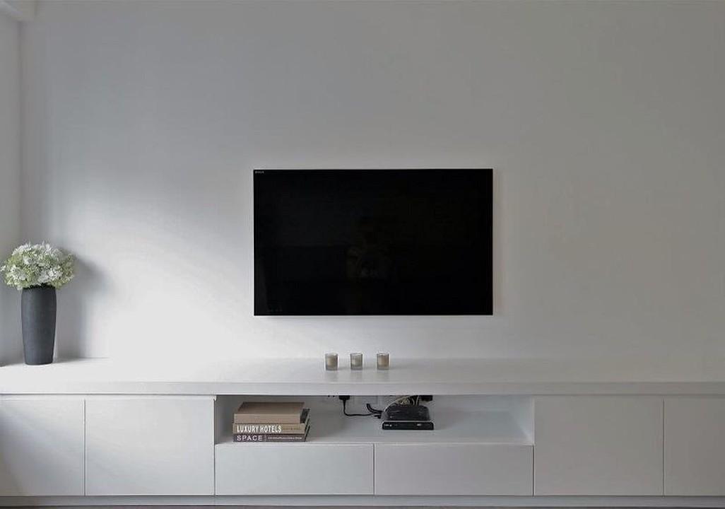 Custom-built TV cabinet, Conduit Road, Mid-Levels