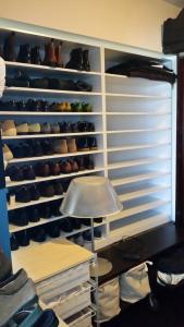 Custom-made men's shoe rack, Bowen Road, Wan Chai