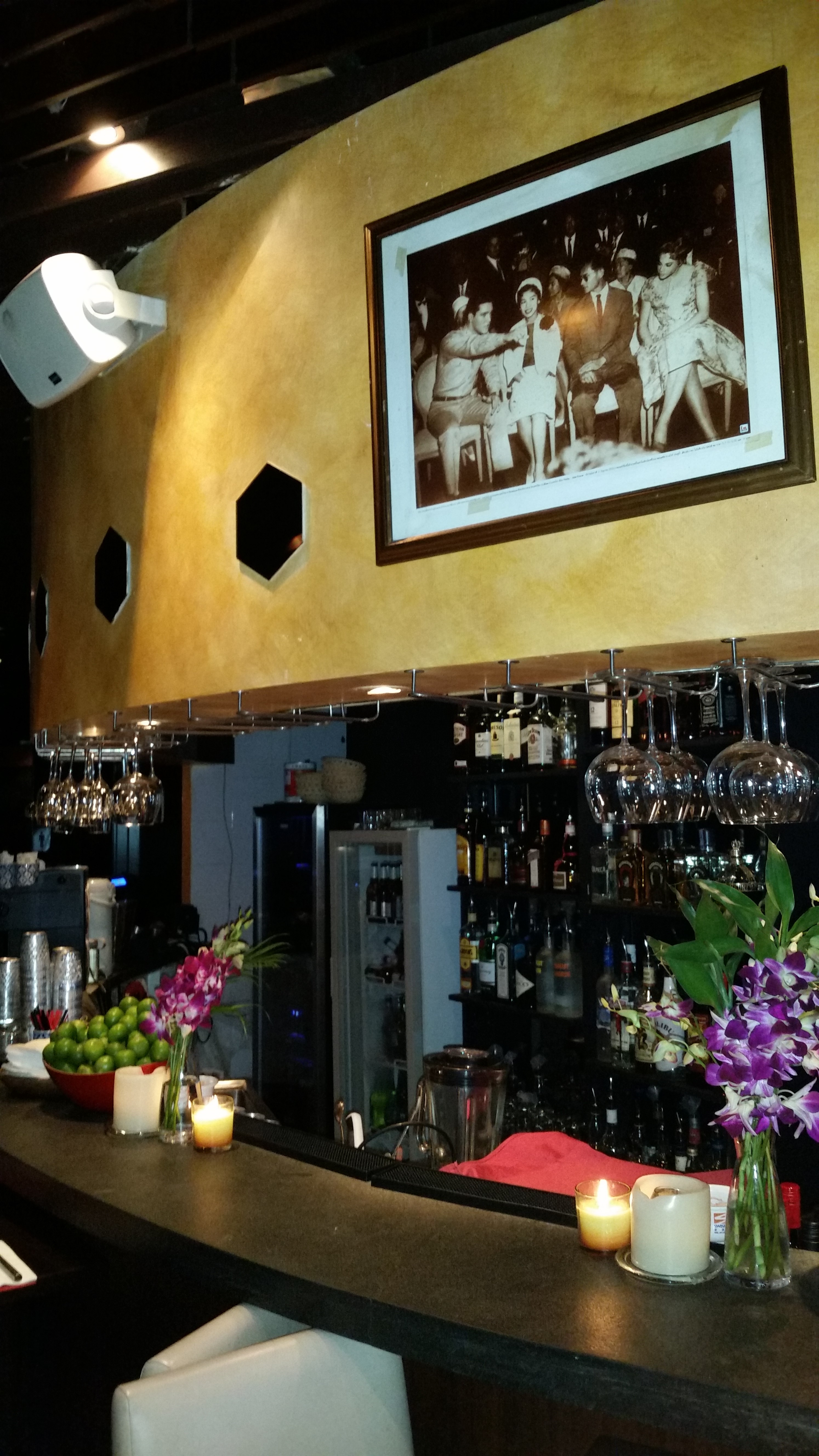 Bespoke painting and commercial renovation of Koh Thai bar, SoHo