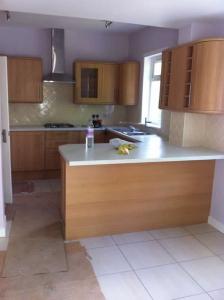 Kitchen renovation, custom cabinets
